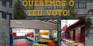 Queremos o teu voto!