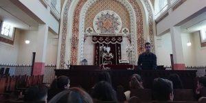Visita de estudo à Sinagoga do Porto '19