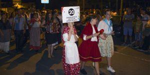"O nosso Agrupamento participou nos ""Romeiros de S. Tiago"""