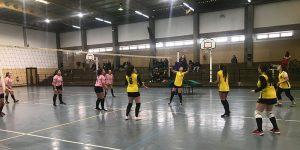 3.ª e última jornada da primeira fase, da competição de voleibol, juvenis femininos