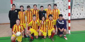 Fase Final de Séries dos grupos/equipas de Futsal, Iniciados, masculinos