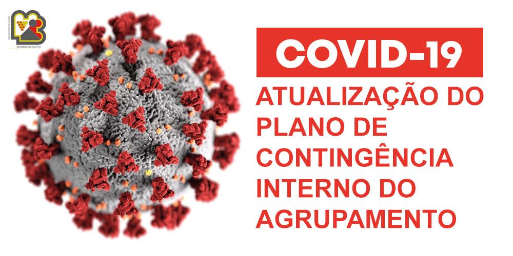 Atualização do Plano de contingência do Agrupamento – COVID-19 (OUT 2020)