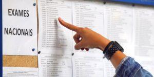 Afixação dos resultados da 1ª Fase dos Exames do Ensino Secundário
