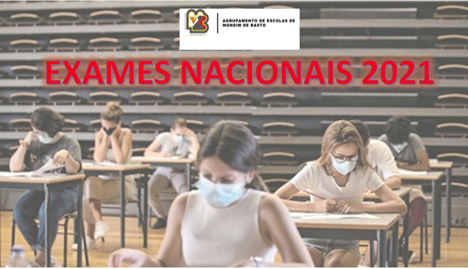Provas e Exames Nacionais 2021