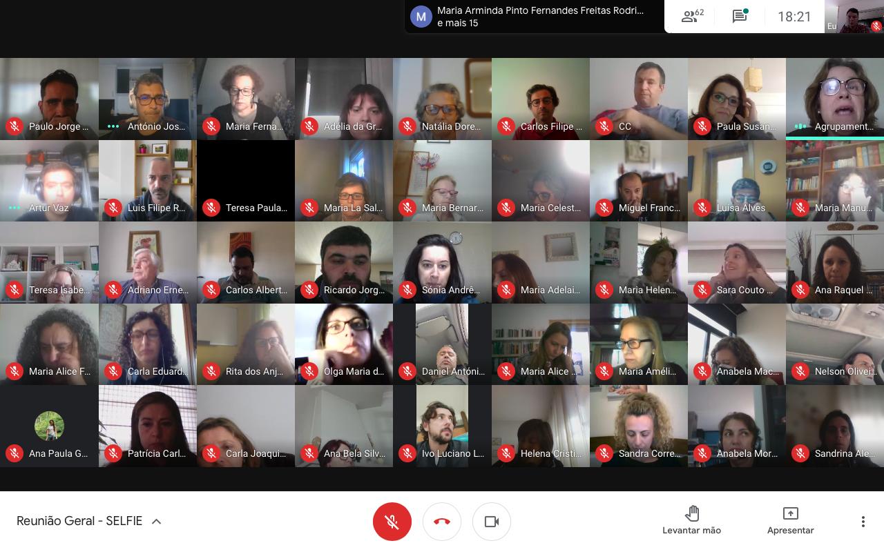 Selfie – Reunião Geral de Professores