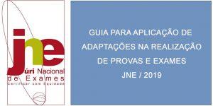 Guia para aplicação de adaptações na realização de provas e exames – 2019