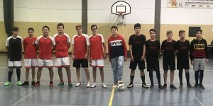 Torneio interturmas de futsal – 3.º Ciclo