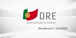 Decreto-Lei n.º 14-G/2020