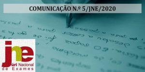 JNE – Processo de inscrição nas provas e exames do Ens. Secundário