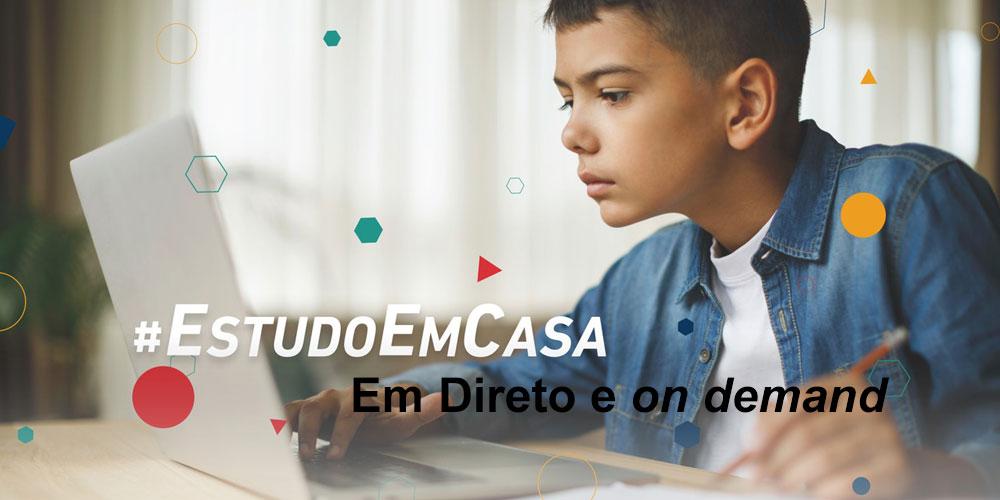 #EudoEmCasa – em direto