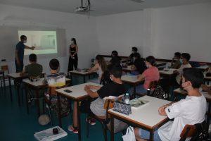 Sessão de apresentação da atual oferta formativa dos Cursos Profissionais às turmas do 9.º ano de escolaridade